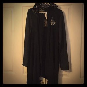 Torrid Harry Potter hooded cardigan